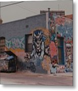 Los Angeles Urban Art Metal Print