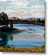 Los Gatos Lake Metal Print
