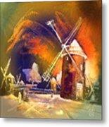 Los Molinos Del Quijote 01 Metal Print