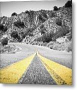 Los Padres Country Highway Metal Print