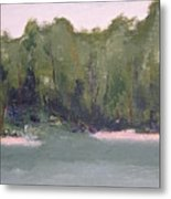 Lost Beach Metal Print