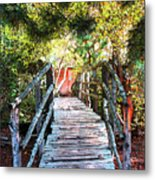 Lost Bridge Metal Print