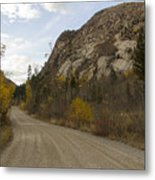Lost Creek Road Metal Print