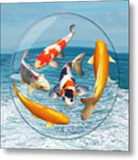 Lost In A Daydream - Fish Out Of Water Metal Print