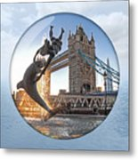 Lost In A Daydream - Floating On The Thames Metal Print