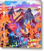 Lost In Colorado Metal Print