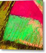 Lost In Colour Metal Print