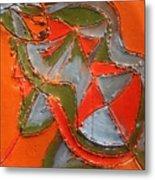 Lost In Puzzle - Tile Metal Print