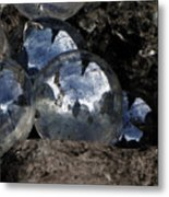 Lost Marbles-self Found Metal Print