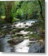 Lost River Metal Print