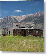 Lost River Range Cabin Metal Print