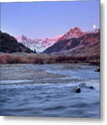 Lost River Range Metal Print