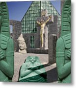 Lost Temple Of Alexandria Metal Print