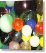 Lost Your Marbles Metal Print