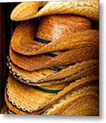 Lots Of Hats Metal Print
