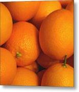 Lots Of Oranges Metal Print