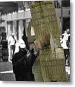 Lottery Man Metal Print