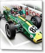 Lotus 38 Indy 500 Winner 1965 Metal Print