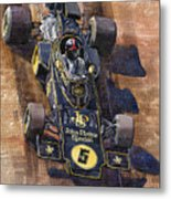 Lotus 72 Canadian Gp 1972 Emerson Fittipaldi  Metal Print