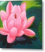 Lotus Bloom Metal Print
