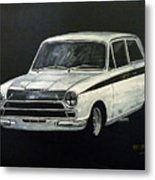 Lotus Cortina Metal Print