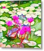 Lotus Flower 3 Metal Print