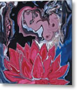 Lotus Love Metal Print