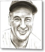 Lou Gehrig Metal Print