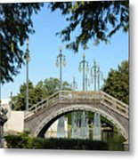 Louis Armstrong Park - New Orleans Metal Print