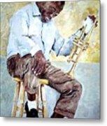 Louis Armstrong- Pops Metal Print