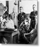 Louis Buchalter At Murder Trial, Louis Metal Print by Everett