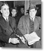 Louis Capone 1896-1944 And Emanuel Metal Print by Everett