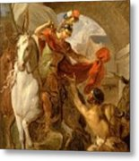 Louis Galloche - A Scene From The Life Of St. Martin Metal Print