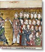 Louis Ix (1214-1270) Metal Print