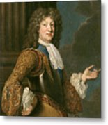 Louis Of France The Grand Dauphin Metal Print