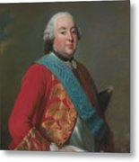 Louis Philippe D'orleans As Duke Of Orleans Metal Print