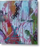 Louis Vuitton Abstract Metal Print