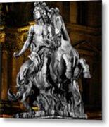 Louis Xiv By Bernini Metal Print