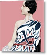 Louise Brooks In Hollywood Metal Print