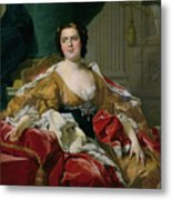 Louise-elisabeth Of France, Wife Of The Infante Philip, Future Duke Of Parma Metal Print