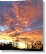 Louisiana Sunset 1 Metal Print