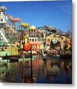 Louisiana Worlds Fair 1984 - New Orleans Photo Art Metal Print