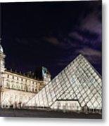 Louvre Museum 2 Art Metal Print