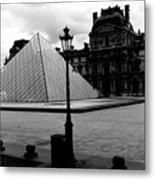 Louvre Museum  Metal Print