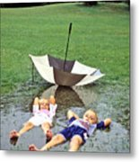 Love A Rainy Day Series Metal Print