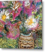 Love And A Daisy On The Side Metal Print
