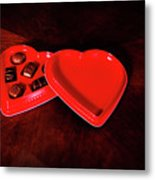 Love And Chocolate Metal Print