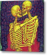 Love And Death Metal Print