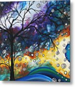Love And Laughter By Madart Metal Print