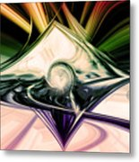 Love And Light Metal Print by Linda Sannuti